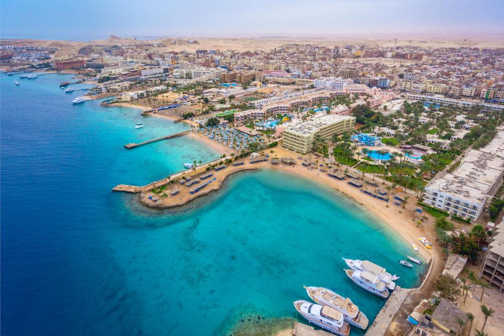 Фото: курорт Хургада в Египте