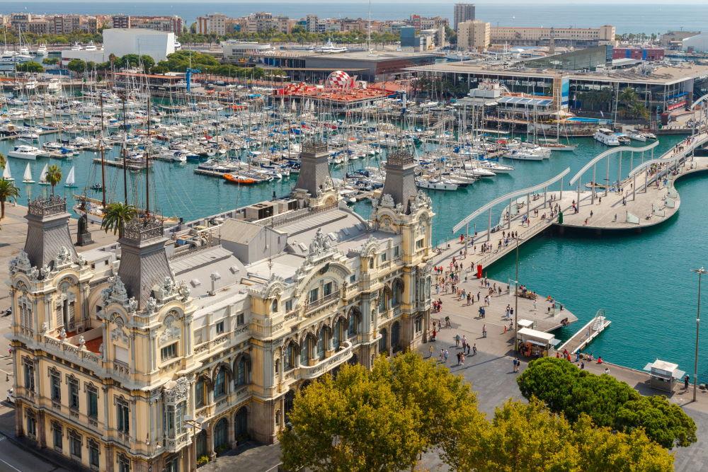 Фото: Старый порт в Барселоне