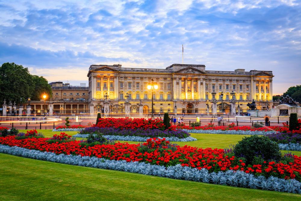 Фото: Букингемский дворец в Лондоне