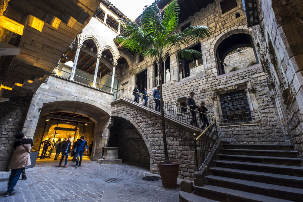 Фото: Музей Пикассо в Барселоне