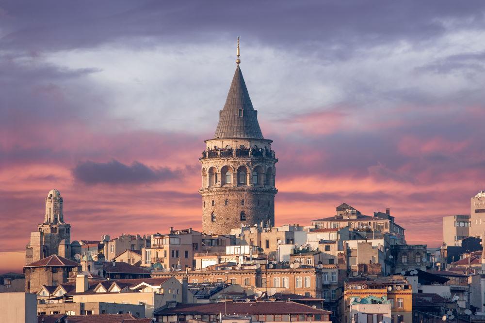 Фото: Галатская башня в Стамбуле