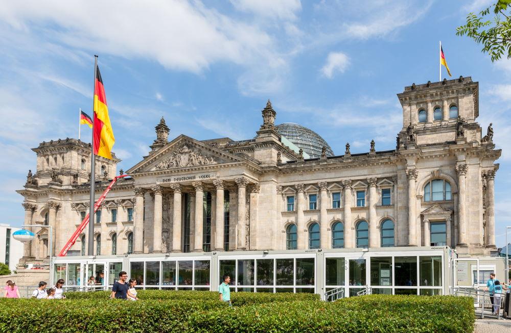 Фото: Рейхстаг в Берлине