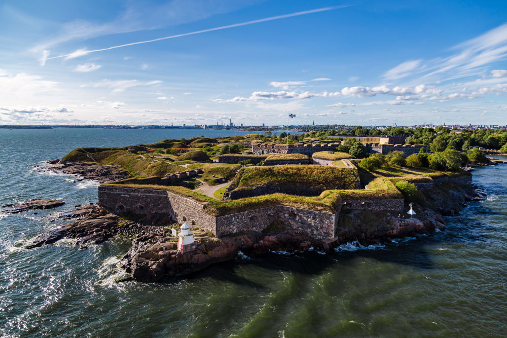 Фото: Крепость Свеаборг (Суоменлинна) в Хельсинки