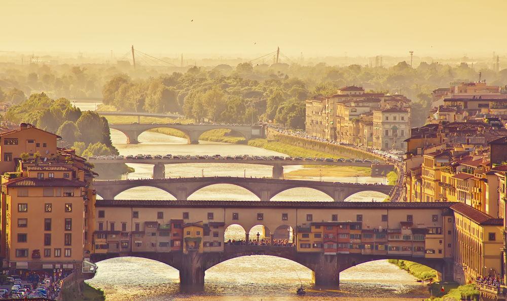 Фото: Мост Понте Веккьо во Флоренции