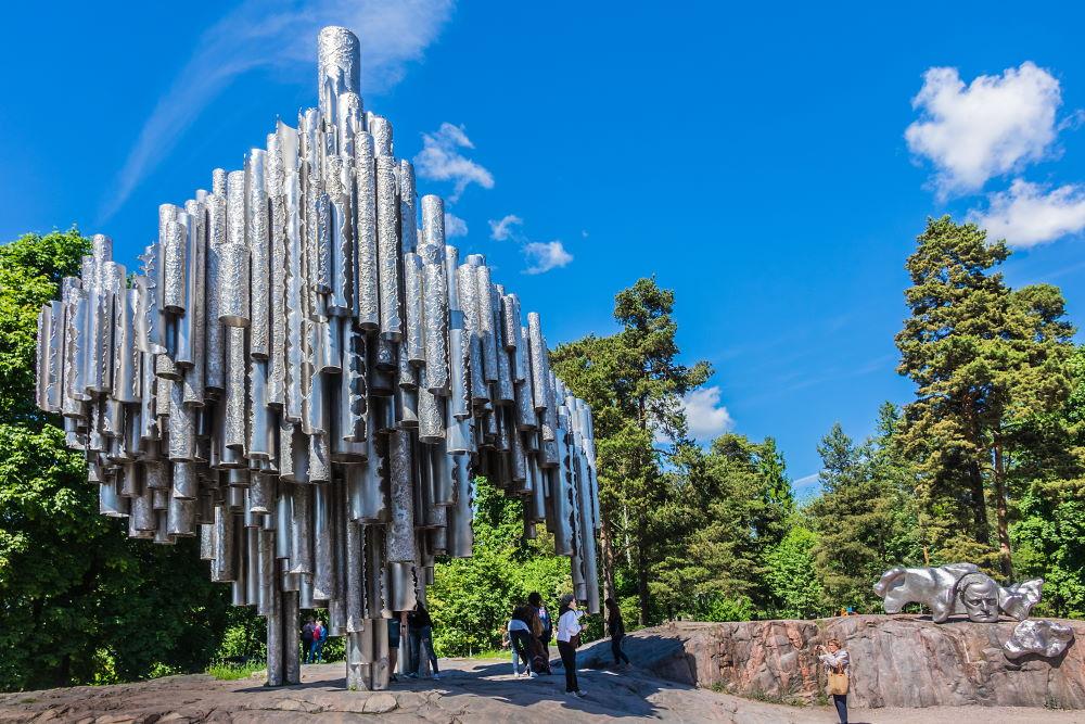 Фото: Памятник Яну Сибелиусу в Хельсинки