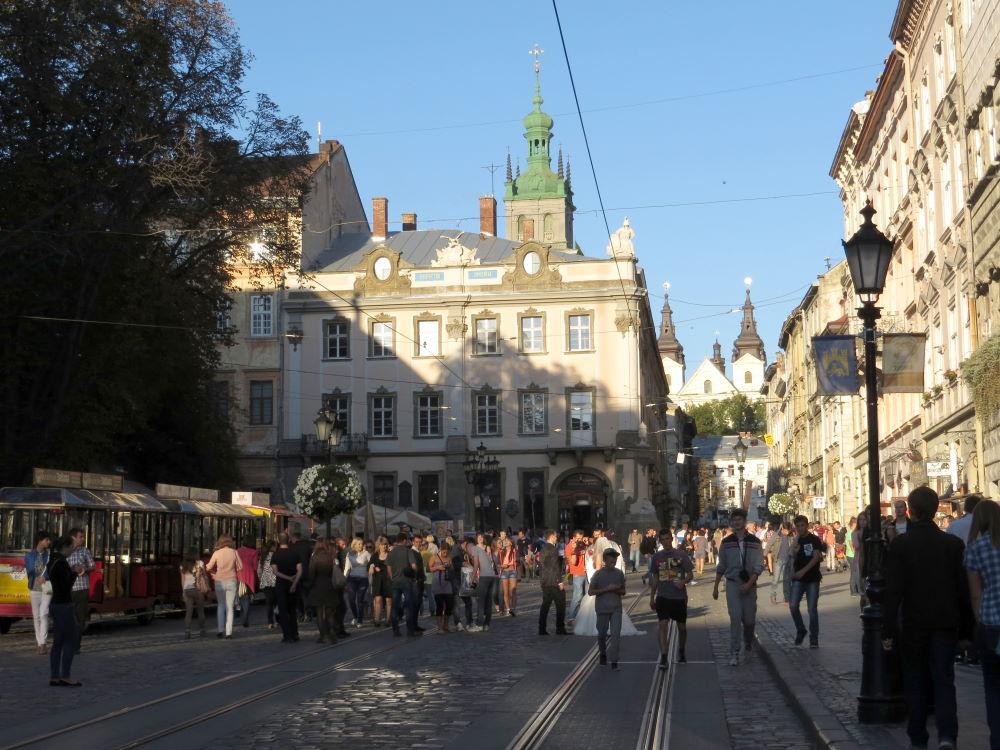 Фото: Площадь Рынок во Львове