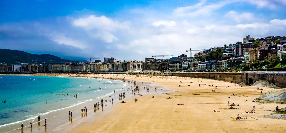 Фото: Курорт Сан-Себастьян в Испании