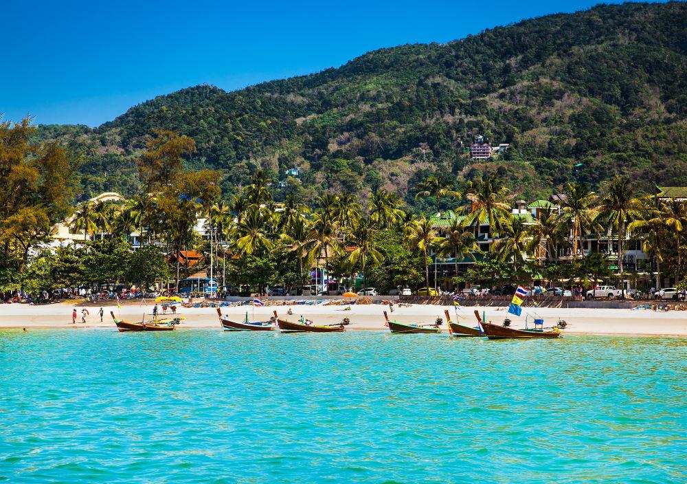 Фото: Пляж Патонг (Пхукет, Таиланд)