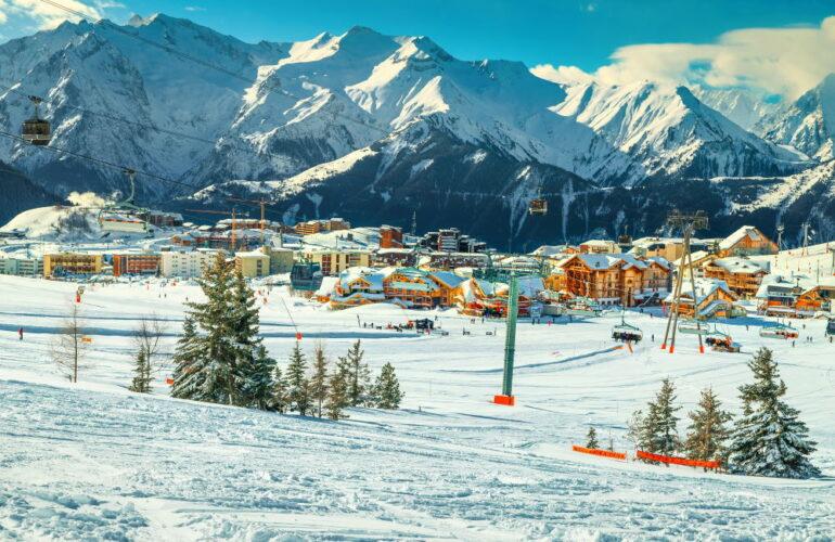 Фото: Лучшие горнолыжные курорты Франции