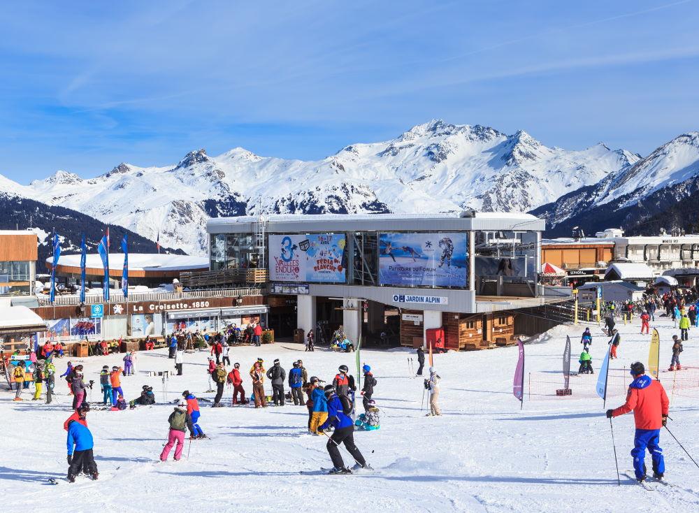 Фото: Лыжный курорт Куршевель
