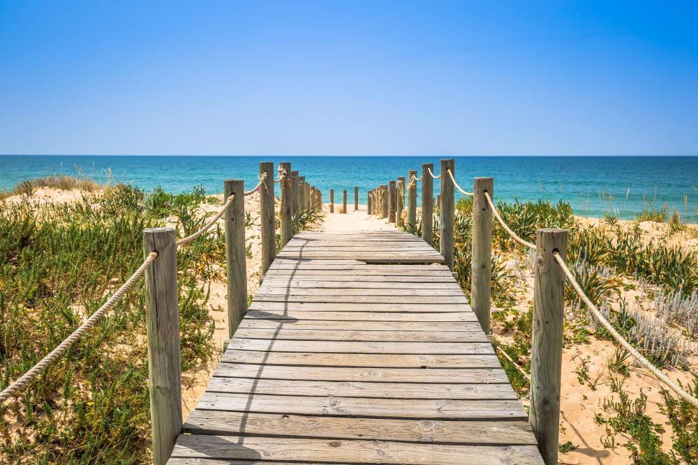 Фото: Пляж Фару, Алгарве, Португалия