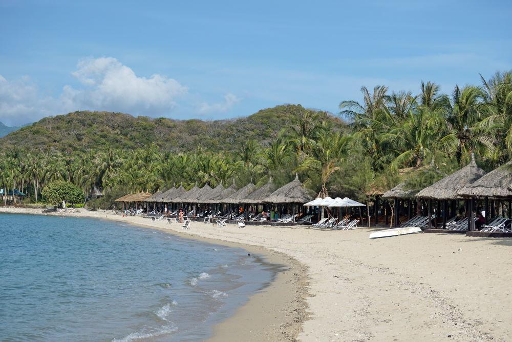 Фото: Красивый пляж во Вьетнаме