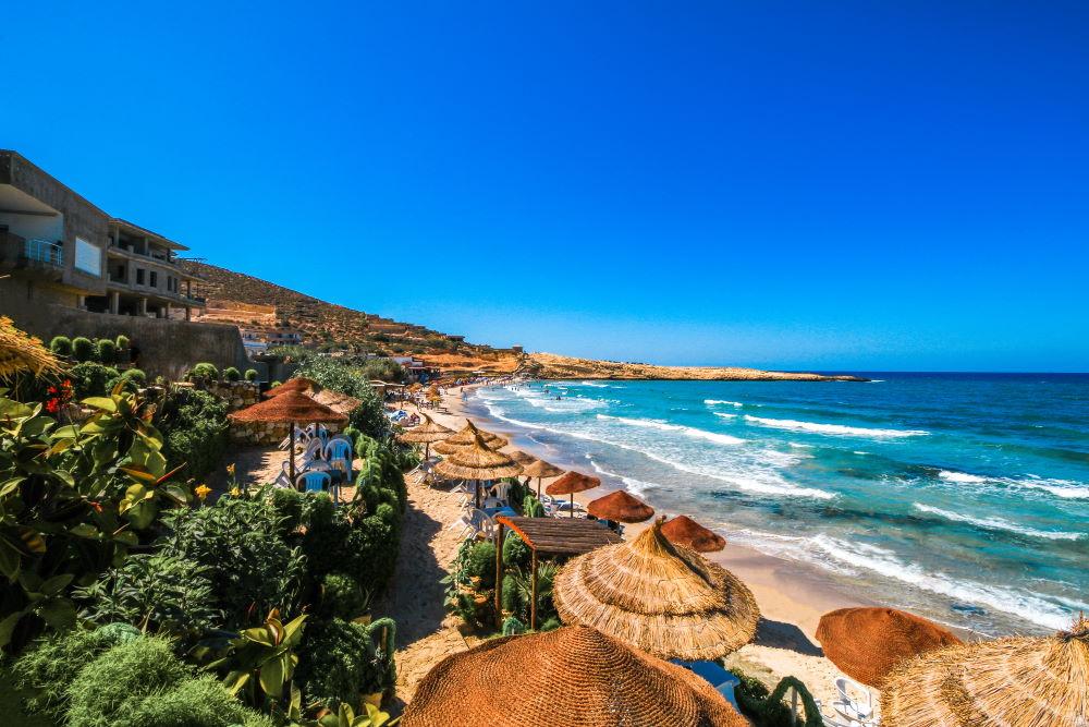 Фото: Красивый пляж в Тунисе