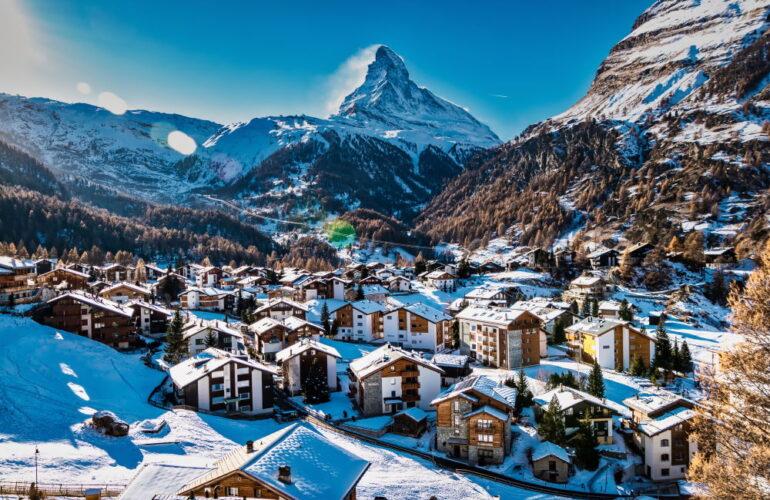 Фото: Горнолыжные курорты Швейцарии