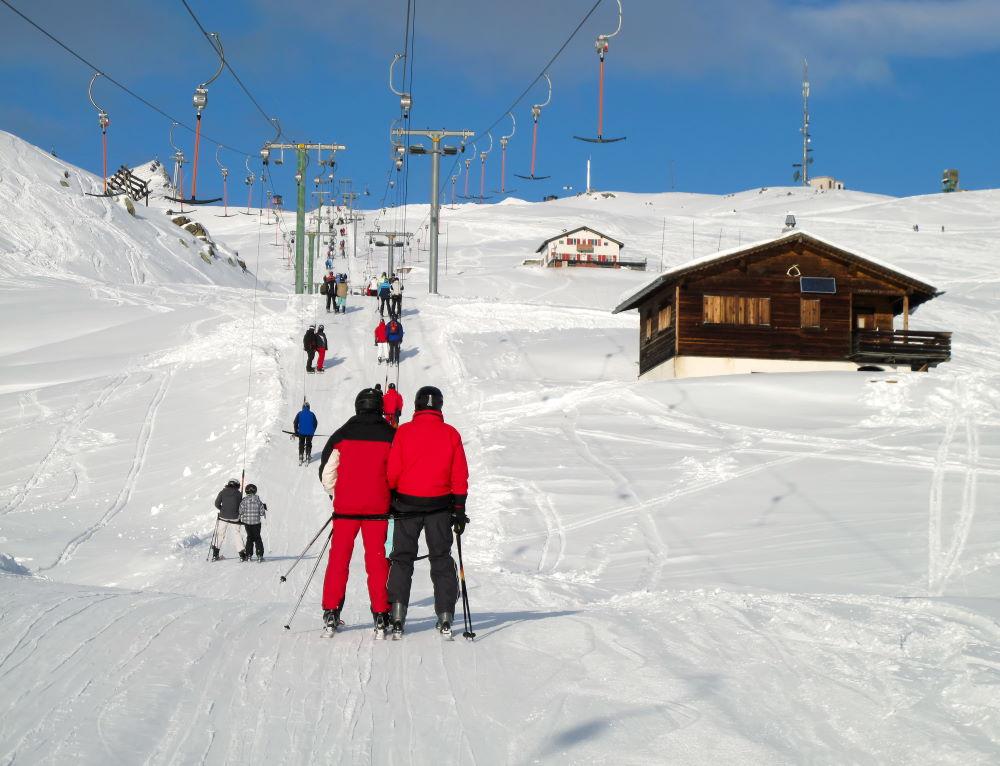 Фото: Лыжный курорт Швейцарии
