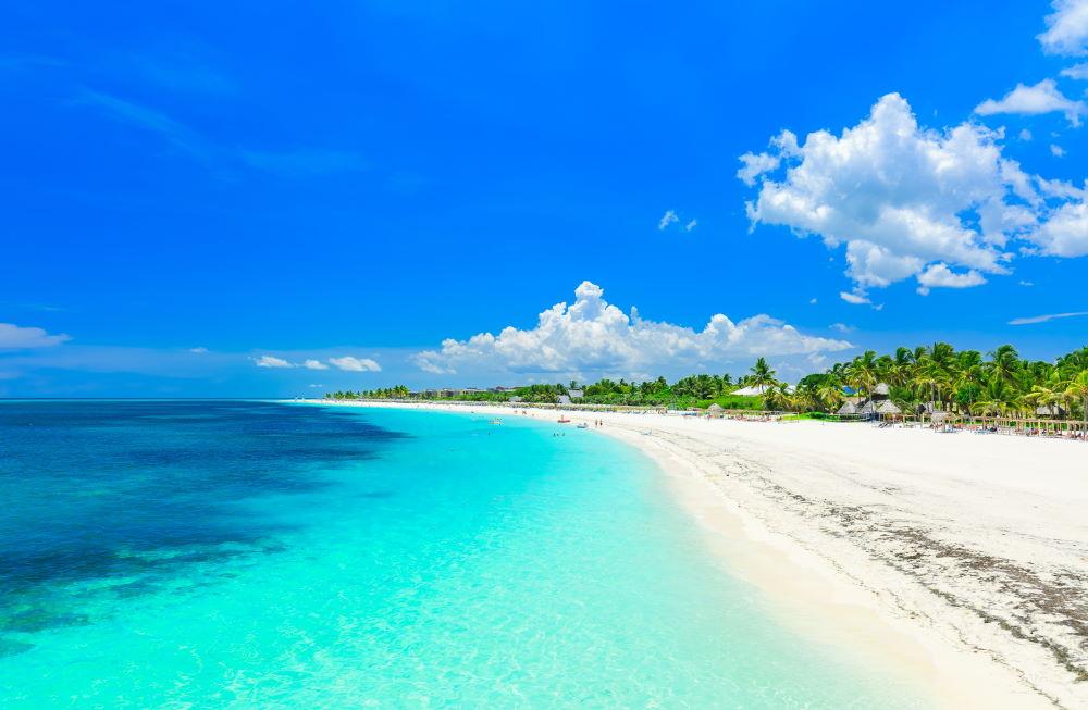Фото: пляж на Кубе
