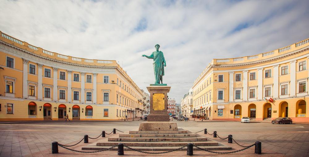Фото: Памятник дюку де Ришелье в Одессе
