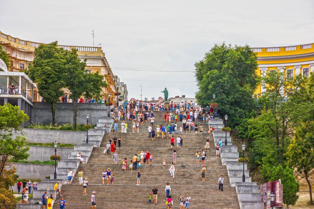Фото: Потемкинская лестница в Одессе