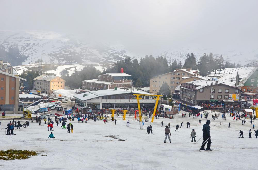 Фото: Популярный лыжный курорт в Турции