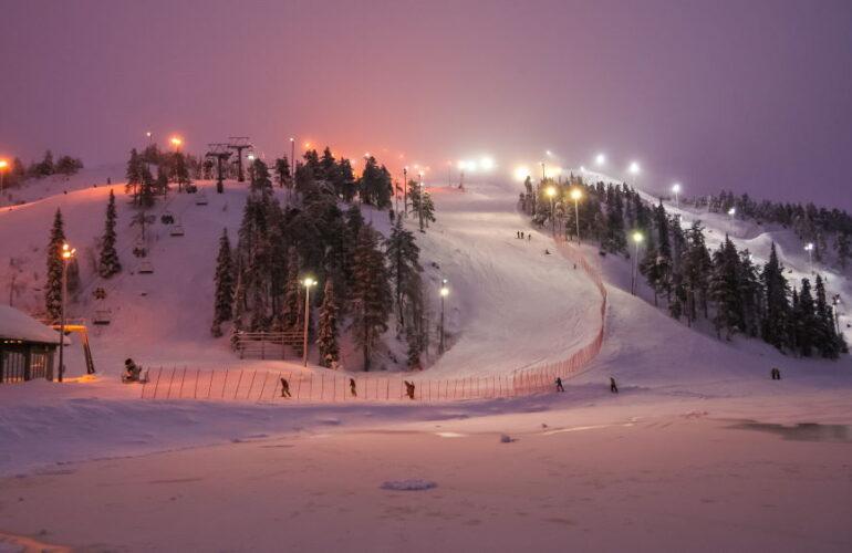 Фото: Лучшие горнолыжные курорты Финляндии