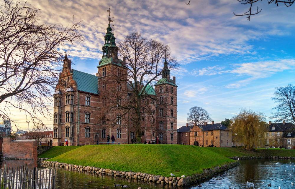 Фото: Замок Розенборг в Копенгагене
