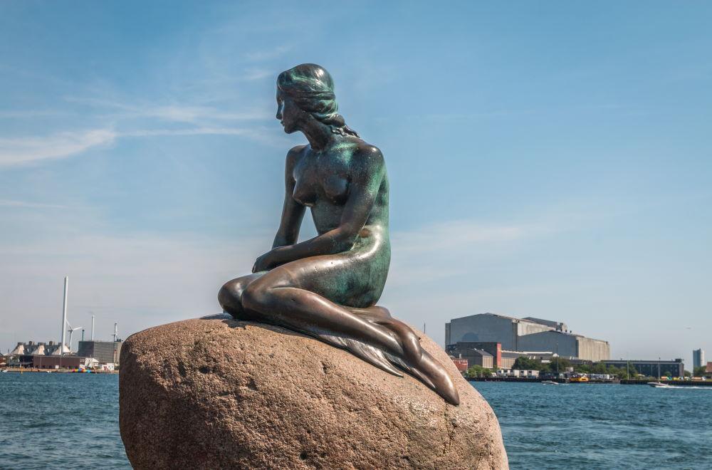 Фото: Памятник Русалочке (Копенгаген)
