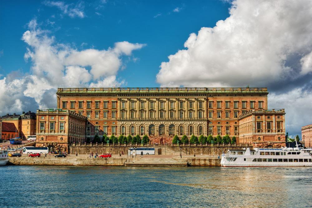 Фото: Королевский дворец в Стокгольме