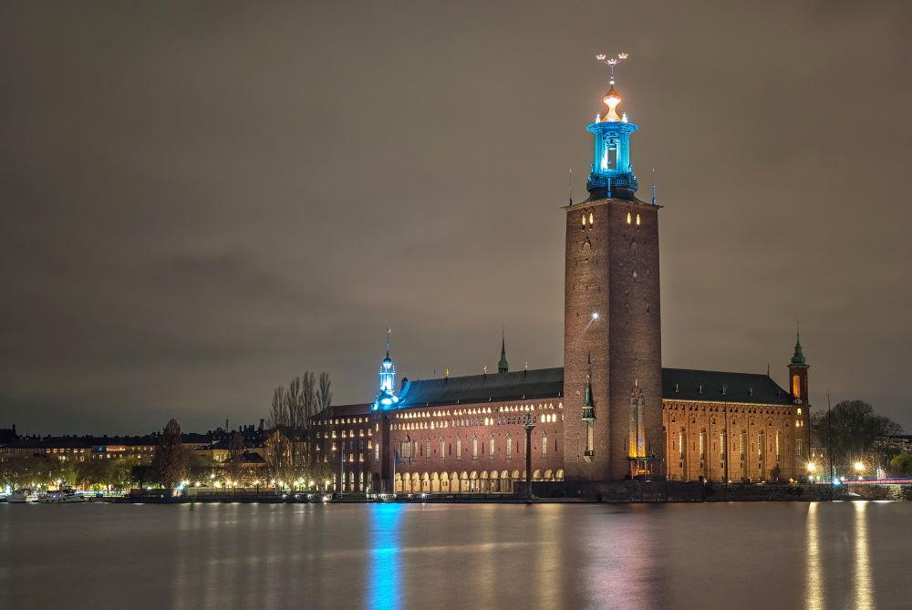 Фото: Городская ратуша (Стокгольм, Швеция)
