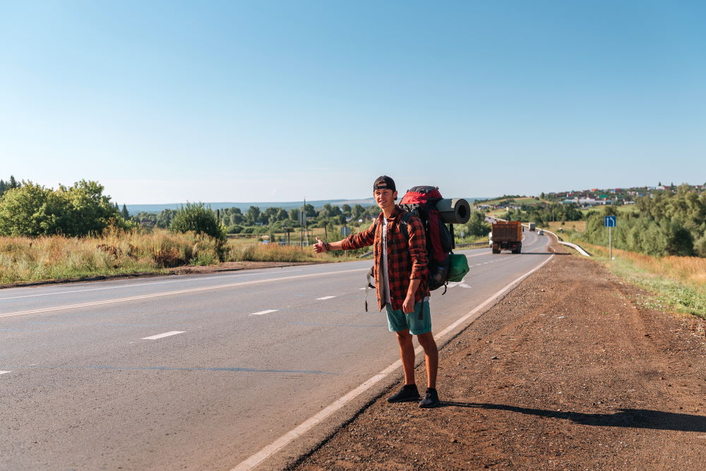 Фото: Путешествие автостопом