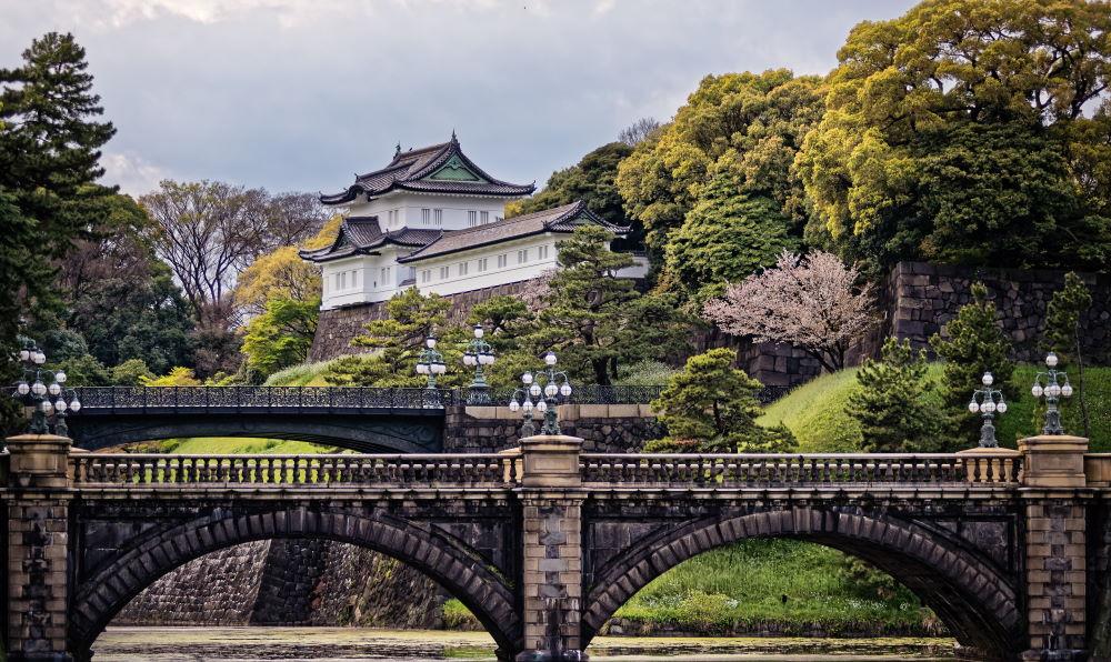 Фото: Императорский дворец в Токио