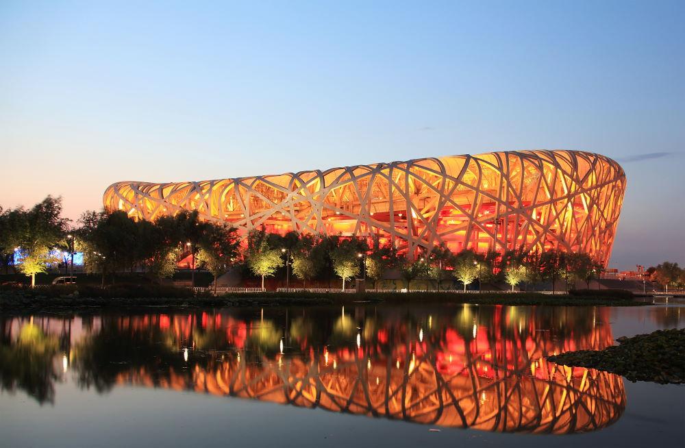 Фото: Национальный стадион Птичье гнездо