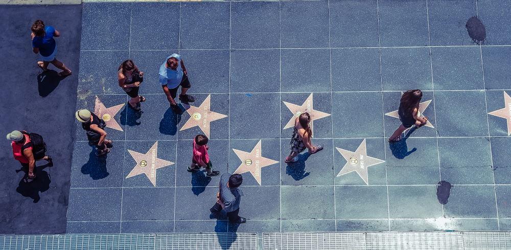 Фото: Аллея Славы в Голливуде