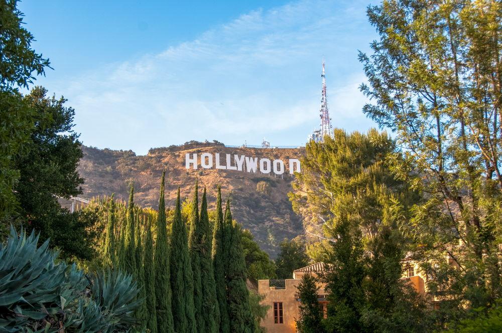 Фото: Знак Голливуда, Лос Анджелес