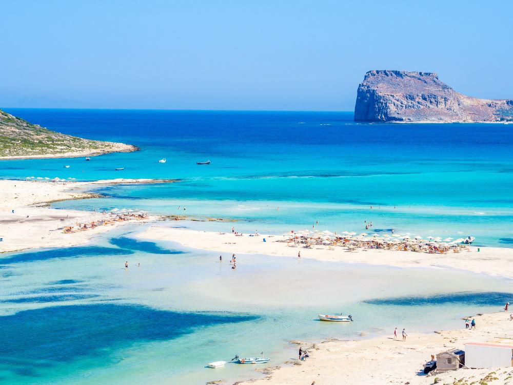 Фото: пляж Балос на Крите
