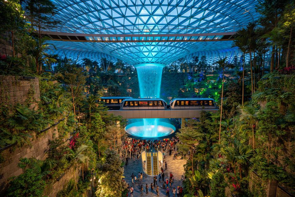 Фото: Аэропорт Чанги, Сингапур