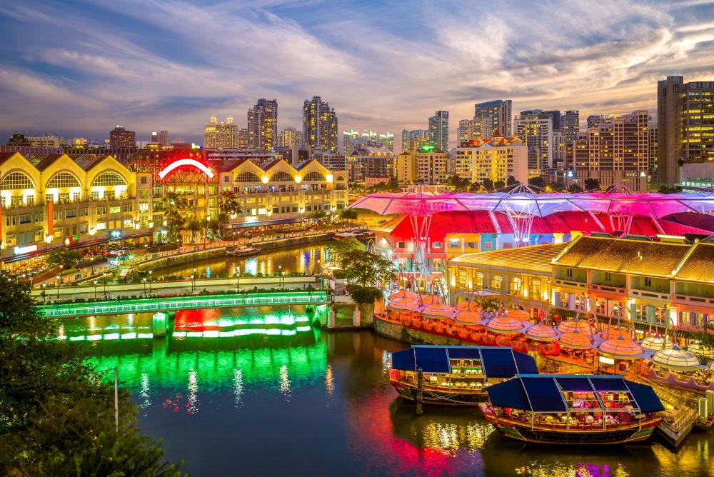 Фото: Кларк куэй, Сингапур