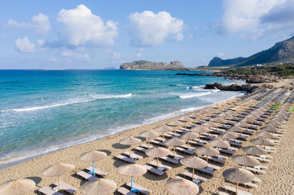 Фото: Пляж Фаласарна, остров Крит