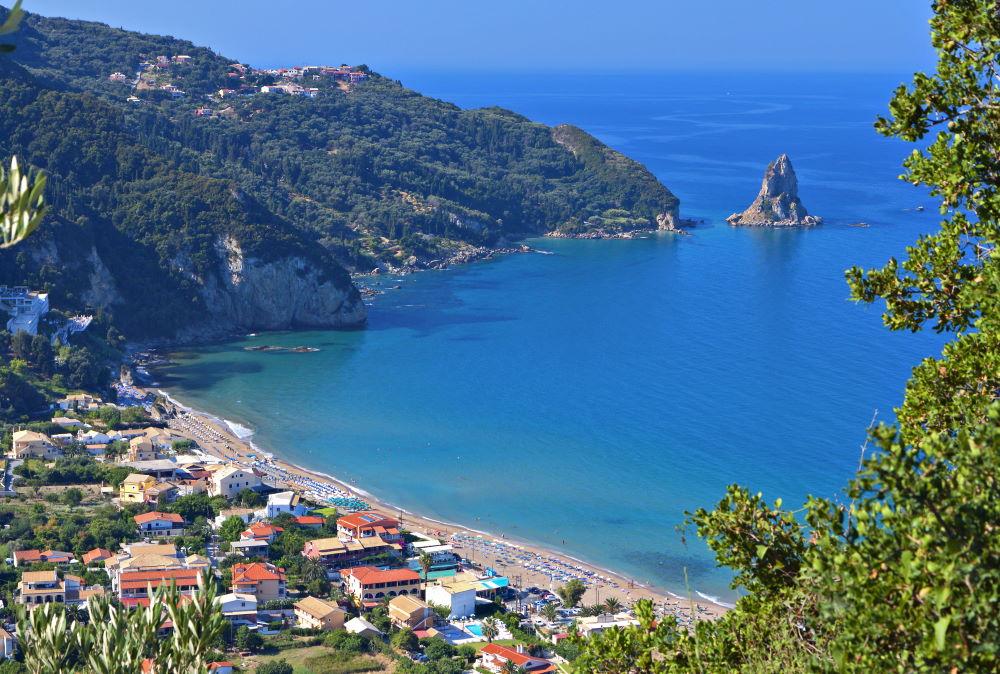 Фото: Пляж Агиос Гордиос, остров Корфу