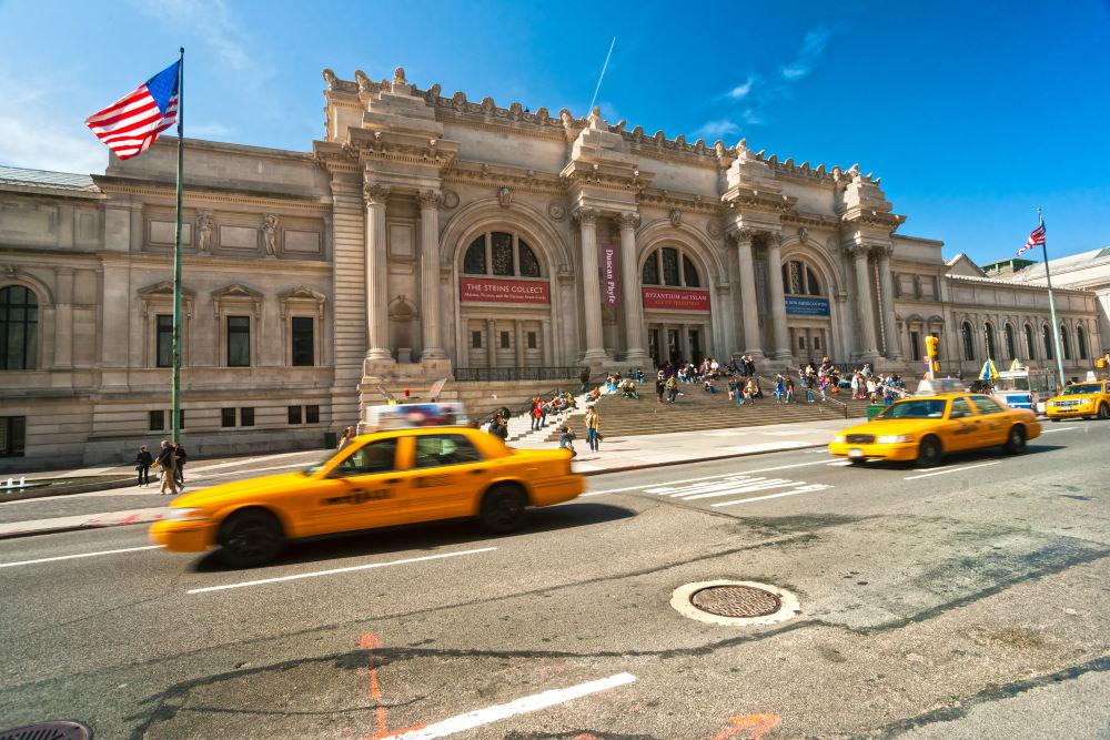 Фото: Музей «Метрополитен» в Нью-Йорке