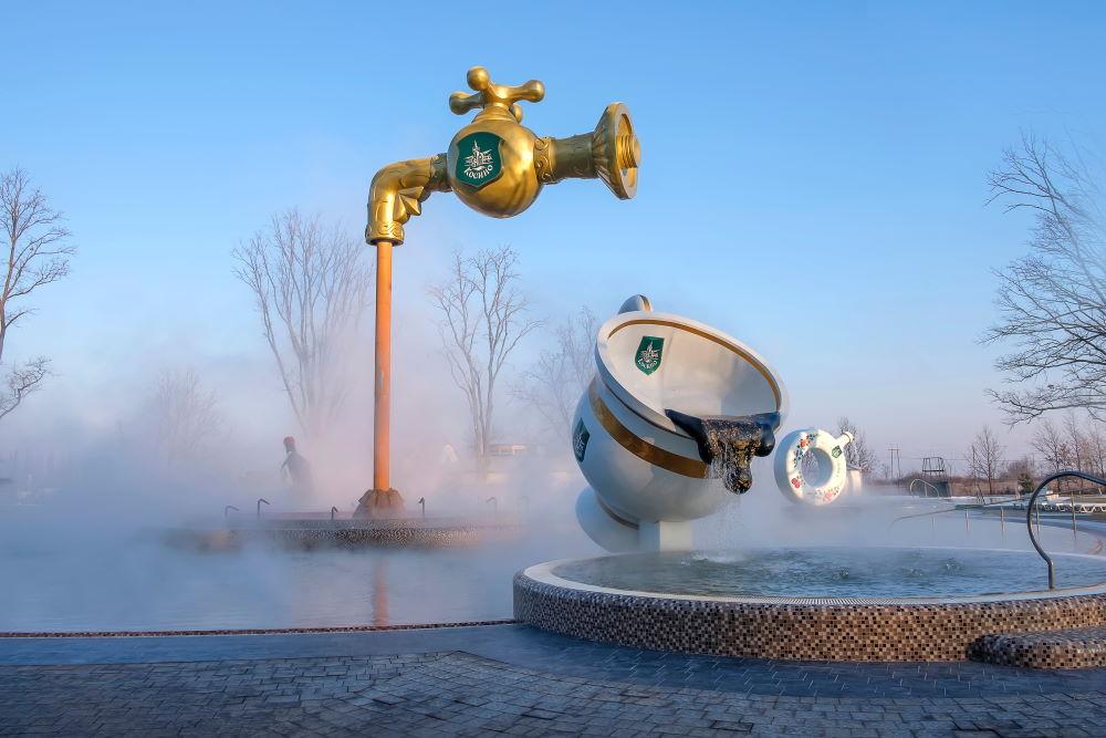 Фото: Термальный бассейн, Закарпатье