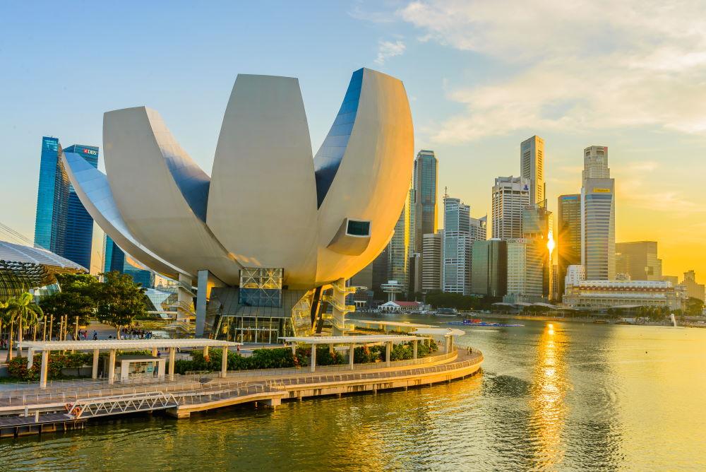 Фото: Музей искусства и науки в Сингапуре