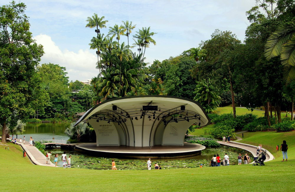 Фото: Ботанический сад, Сингапур