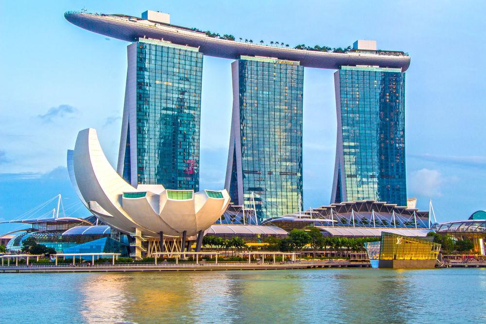 Фото: Отель Марина Бэй Сэндс в Сингапуре