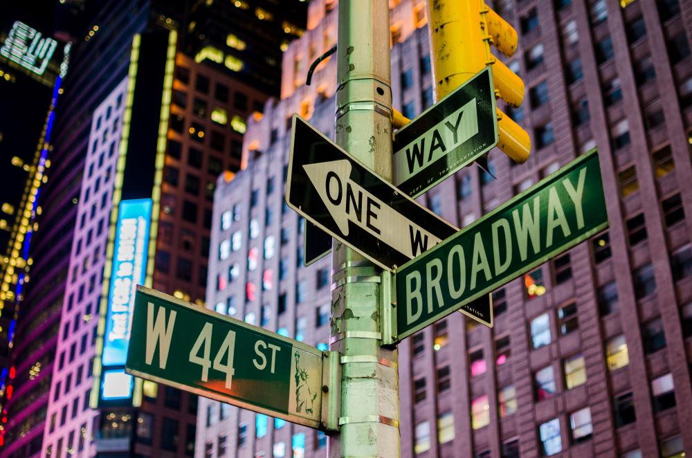 Фото: Улица Бродвей, Нью-Йорк