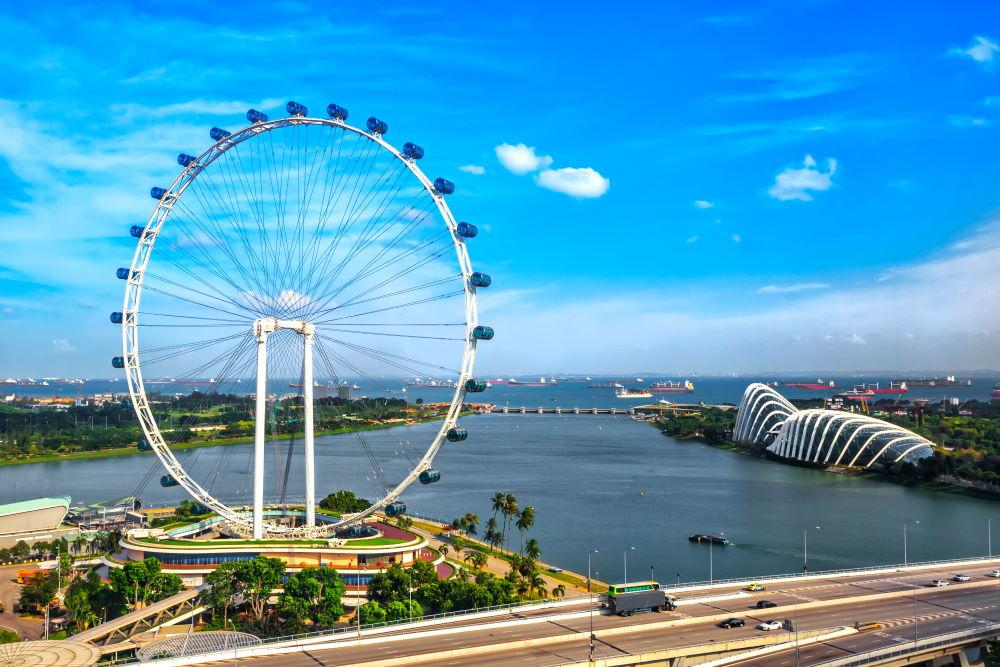 Фото: Колесо обозрение, Сингапур