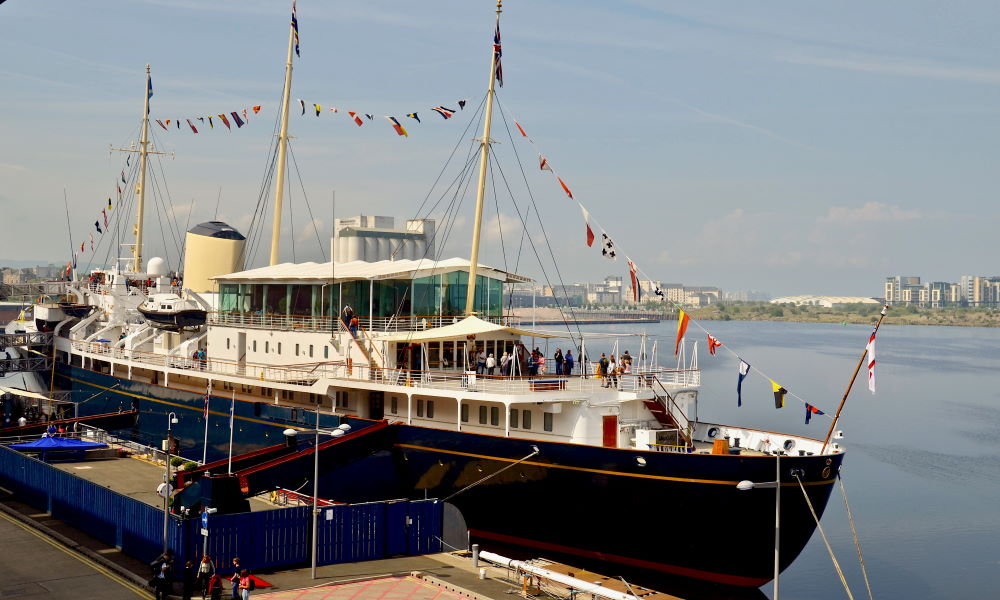 Фото: Королевская яхта Британия, Эдинбург