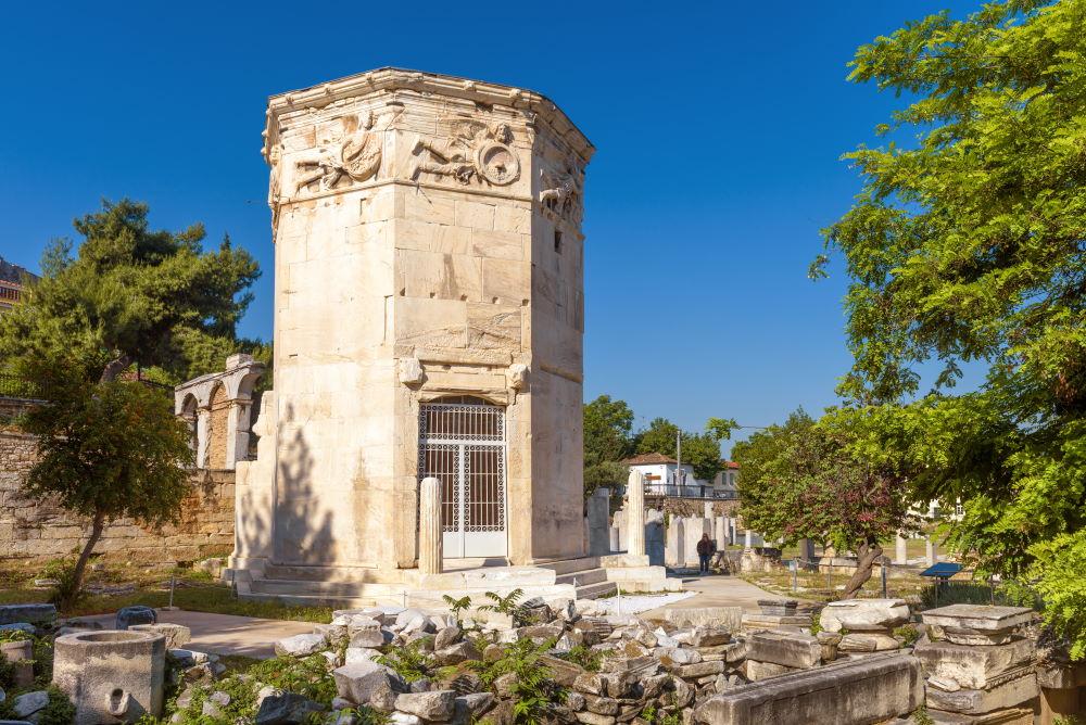 Фото: Башня ветров в Афинах