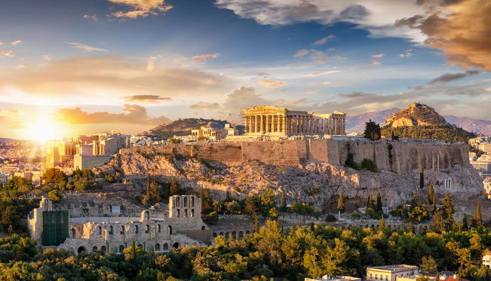 Фото: Афинский Акрополь