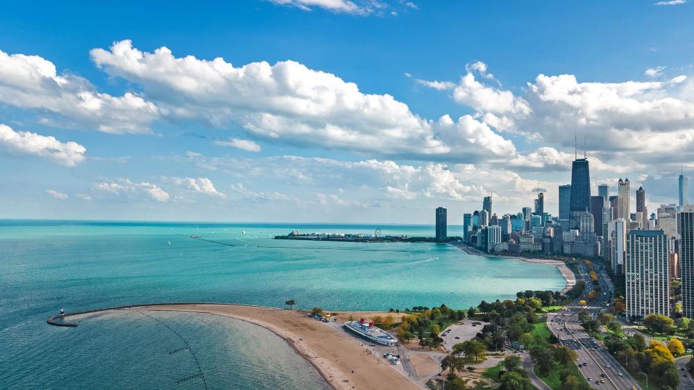 Фото: Озеро Мичиган, Чикаго