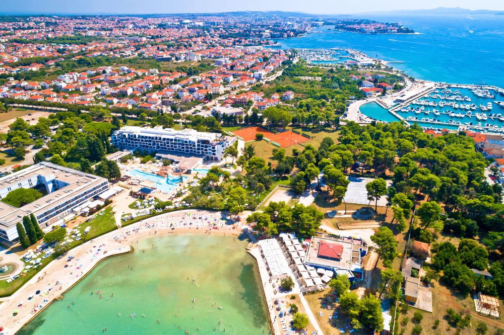 Фото: Пляж Борик, Задар, Хорватия